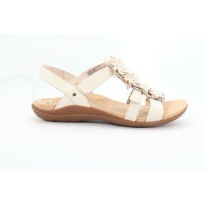 Abeo Blossom Sandals Off White Size 7 (EPB)4377